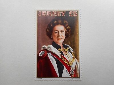 Jersey 1981 £5 definitive stamp never hinged mint