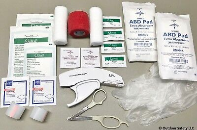 Skin Stapler & Remover - Wound Closure Kit (Mid-Level Kit). Surgical Sterile 35W