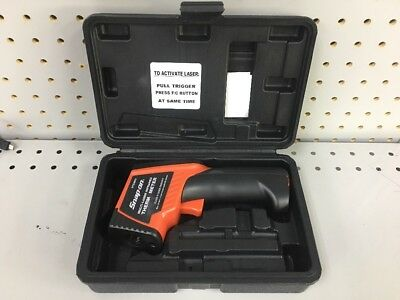 Snap On Tools RTEMP8 Multi-Laser Infrared Thermometer with Case