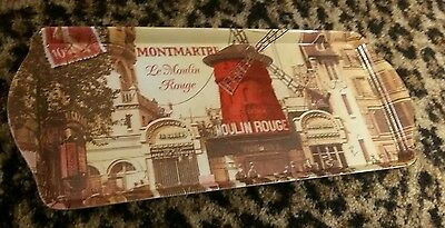Le Moulin Rouge Montmartre Art Deco Tray Orval Paris France Melamine Windmill
