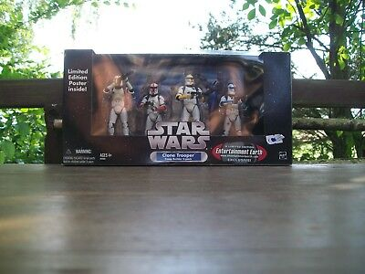 Clone Trooper vierer Pack Vintage Collection Limited Edition