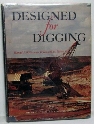 Designed For Digging First 75 Years Of Bucyrus-Erie Co Excavator History Mining