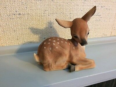 Deer Figurine 1978 By R. S. L. #4321 Made In Mexico