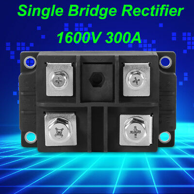MDQ 300A Single-Phase Diode Bridge Rectifier 300A Amp 1600V Power US SHIP