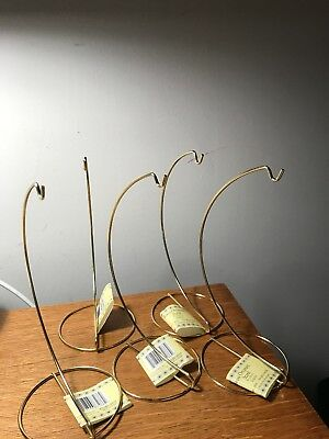 Set of 5 Ornament Hangers with Tags