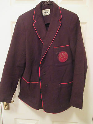 "1940s?  HHB school blazer.Lightning metal zip.Malory Towers book day? 38"" chest"