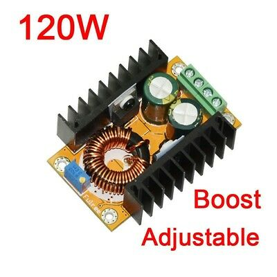 120W DC-DC 12V/24V to 36V-60v 48V Boost Power Supply Step Up Converter Charger