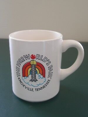 World's Fair 1982 KNOXVILLE Tennessee Vintage MUG Excellent condition USA