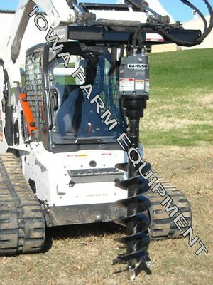 Hydraulic Post Hole Digger Auger Drive, Skidsteer Q/A: Danuser EP15, 15-30GPM