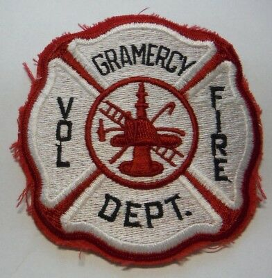 Old Gramercy Louisiana Volunteer Fire Dept Patch