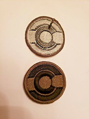 Colorado Army National Guard Subdued Patch New!