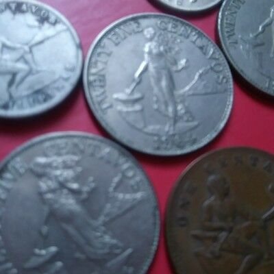 Philippines Coin Lot of 9