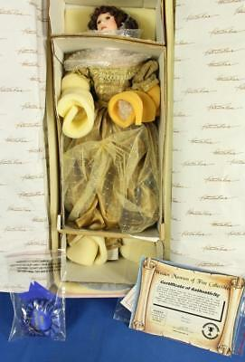 """Welden Museum Jessica 22"""" Porcelain Doll w/ COA #679/1500 by Patricia Rose"""