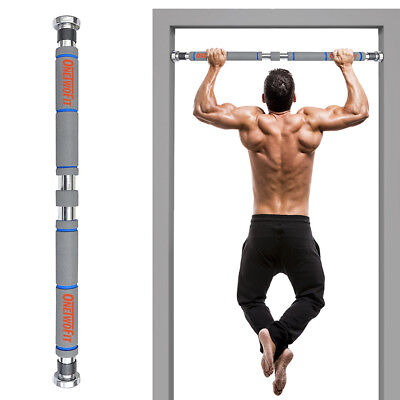 Adjustable Pull-up Bar Gym Exercise Chin-up Fitness Training Bar Door Wall OT033