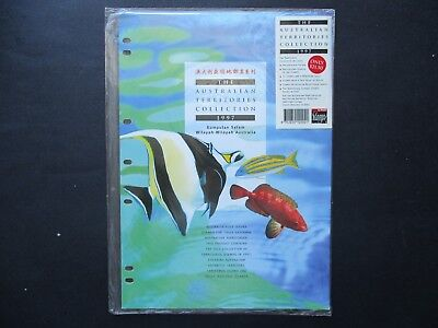 ESTATE: 1997 Australian Territory Collection on Hagners - excellent item (4104)