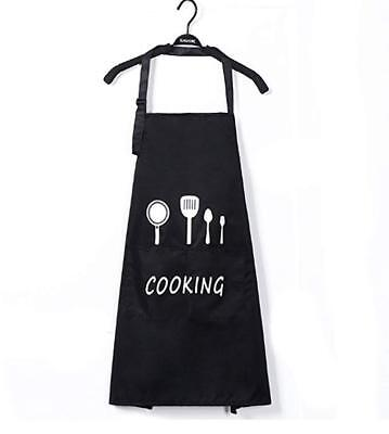 Waterproof oilproof Apron with 2 Pockets Professional for Cooking BBQ Unisex