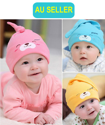 Newborn Baby Girl Boy Toddler Kids Winter Warm Knitting Hat Ski Beanie Cap