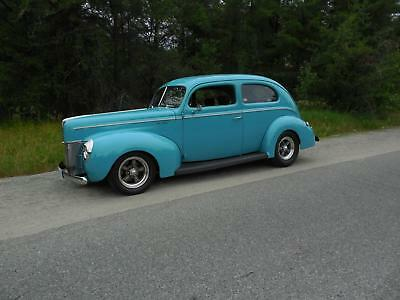 1940 Ford Deluxe  1940 Ford Sedan -   All Steel Street Rod -   NO RESERVE