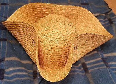 Straw Cocked Hat