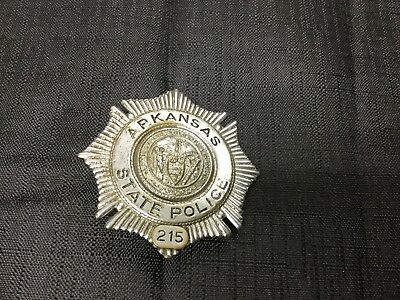 obsolete Arkansas State police badge