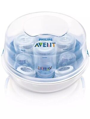 Philips AVENT Microwave Steam Sterilizer for Baby Bottles - NWD - 1883