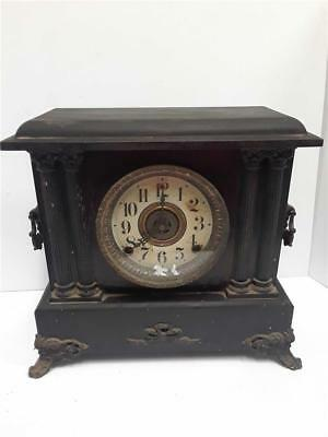 Antique Sessions Mantle Clock *No Key/Pendulum* Early Model