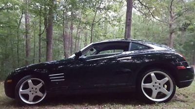 2004 Chrysler Crossfire  2004 Chrysler Crossfire Black with Black leather low miles