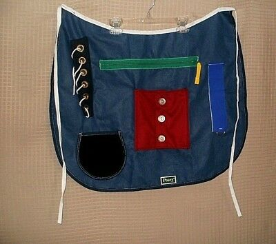 NEW - POSEY Adult Cognitive Therapy Multi Activity Apron One Size FREE SHIPPING