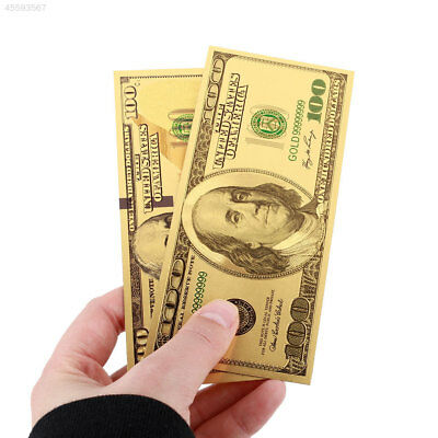 Decoration Antique Plated Gold Fake Money Home Decoration Collection Banknotes