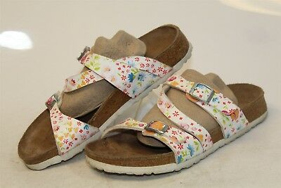 f0a47ac3c44 BIRKI S BY BIRKENSTOCK Germany Made Womens 8 39 Floral Print Sandals Shoes  ps