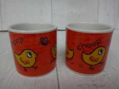 Dunoon Funky Farm Egg Cups