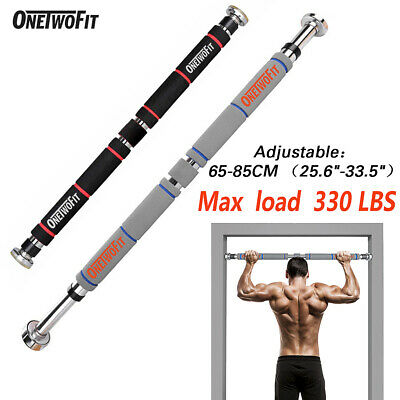 Adjustable Pull-up Bar Gym Exercise Training Chin-up Fitness Door Wall 2 Color