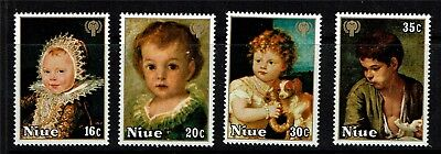 Niue 1979 Year of the Child SG 278-81 MNH