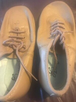 Tan Jazz Shoes.  Size 13