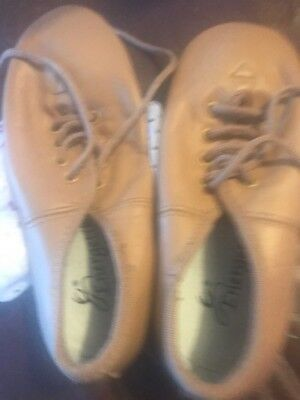 Tan Jazz Shoes. Size 11