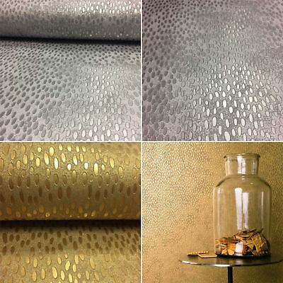 Shiny Metallic Scales Wallpaper Textured Finish Luxury Modern Paste The Wall
