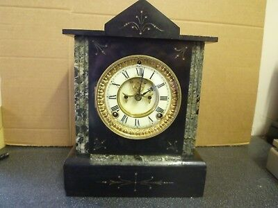 American  Ansonia antique clock, spares or repair