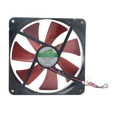 AU Silent Quiet 140mm 14cm DC 12V 4D Computer Cooling Fan PC Laptops Cooling Fan