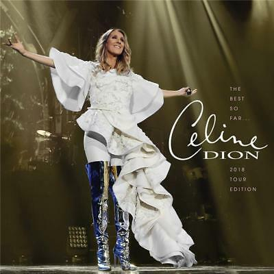 CELINE DION THE BEST SO FAR 2018 Tour Edition CD NEW Made in Australia