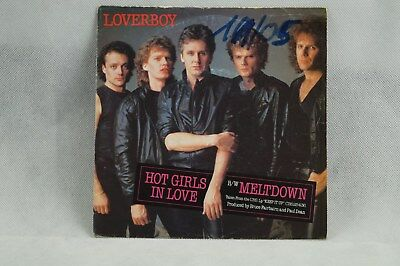 "Loverboy - Hot Girls in Love 7"" Single"