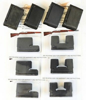 M1 Garand Combo 10-Pack of Clips - 4x 8rd, 3x 5rd, & 3x 2rd Clip New mix Round