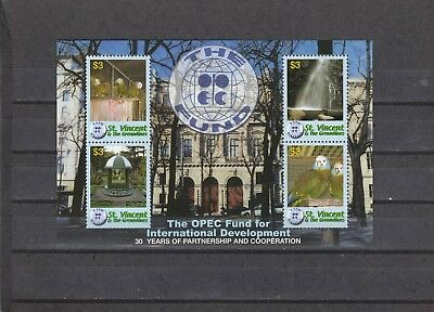 ST VINCENT - SG5525-5528 MNH 2006 30th ANNIV OPEC FUND