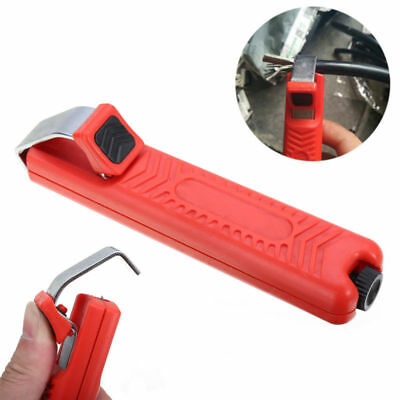 Wire Stripper Stripping Cutter Plier Crimping Tool For PVC Rubber Cable 8-28mm #