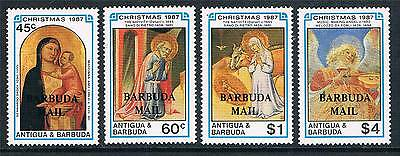 Barbuda 1988 Christmas SG 1010/3 MNH
