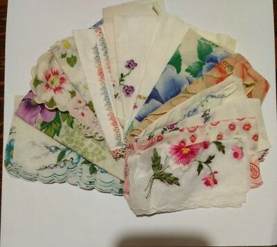 Lot Of Vintage Hankies