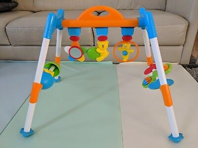 Baby Play Activity Gym Rattle Teether Toys Mirror
