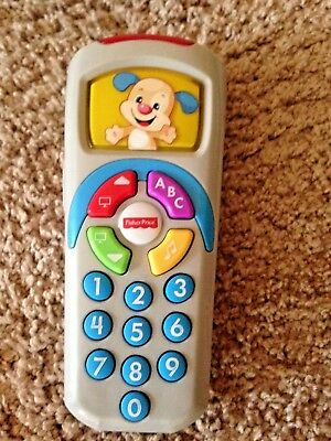 Fisher Price Laugh and Learn Sis Remote Teach Numbers ABC Colors Baby Toy