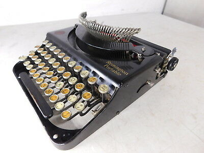 Antique Minty c1921 Remington Portable Typewriter Pop-up Keys From a Collection