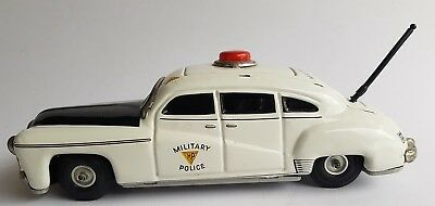 Tippco Tipp & Co Military Police Limousine 1011 Blechspielzeug Tin Toy Friction
