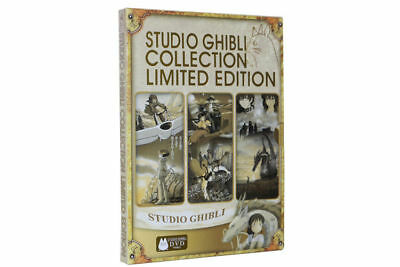 STUDIO GHIBLI  Collection Limited Edition DVD Brand New Sealed Quick Postage